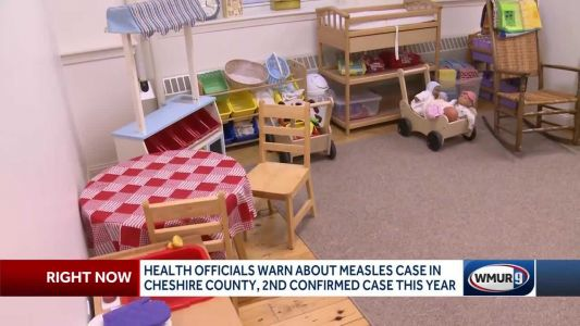 Health officials warn about measles case in Cheshire County