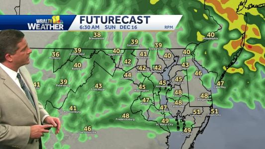 Rain continues through Sunday