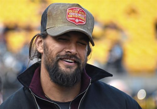 Jason Momoa is still doing things in Pittsburgh