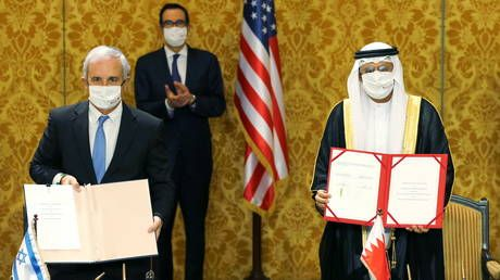 Israel, Bahrain formalize ties at ceremony attended by US officials