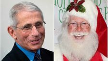 Fauci Says Santa Claus Has 'Innate Immunity' And Can't Spread COVID-19