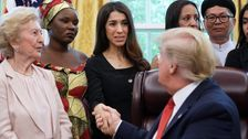 Trump Gives Awkward Response To Yazidi Woman Whose Family Was Killed By ISIS
