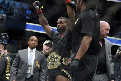 Tyron Woodley on UFC on ESPN 9 loss: 'I've got a weird peace for somebody who just got their ass whooped'