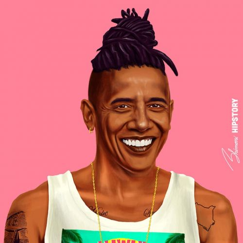 This artist draws famous historical figures as modern-day millennials - and the portraits are hilariously accurate