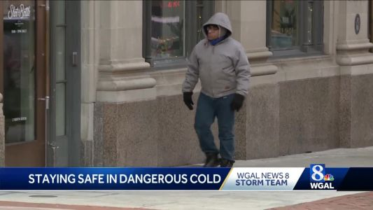 Doctor's advice for staying safe in dangerous cold