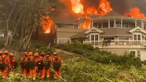 Watch Now: California's wine country under siege from Glass Fire