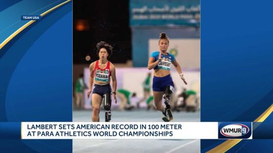 Londonderry athlete sets American record at World Para Athletics Championships