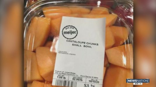 Meijer recalls cantaloupe sold in 6 states due to salmonella risk