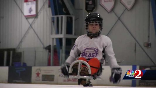 'Hockey is in their blood': Space Coast team producing world class sled hockey players