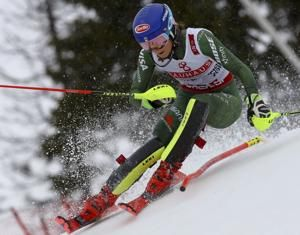 Shiffrin skis through sickness to 'sweetest' win of career