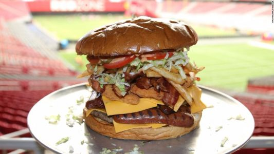 A super burrito, pho and a 7-pound burger: A look at the NFL's most unique stadium foods