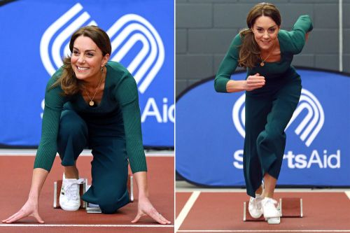 Kate Middleton makes a run for it and more star snaps
