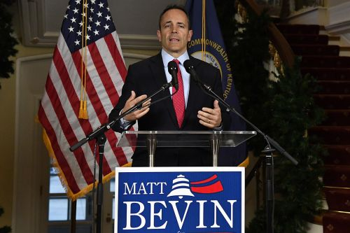 Matt Bevin concedes Kentucky governor's race