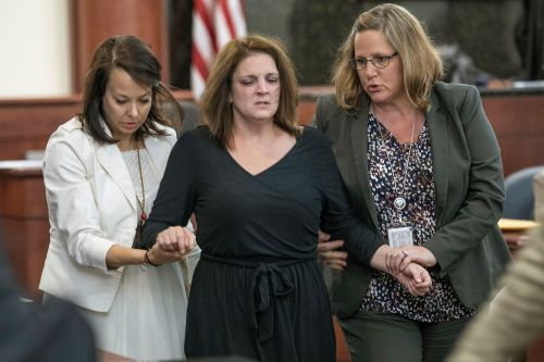 Mom collapses while testifying against ex-husband who killed their 5 kids