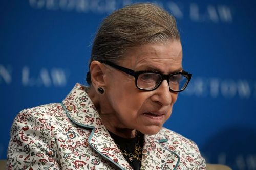 Justice Ruth Bader Ginsburg hospitalized after fracturing 3 ribs in fall at court