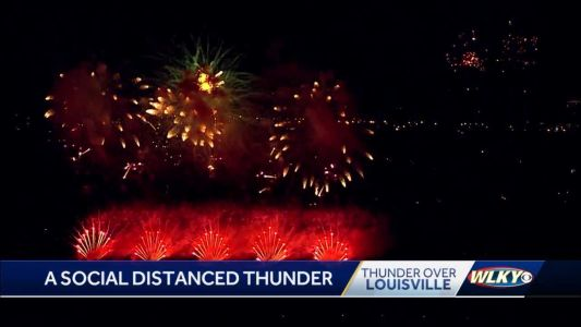 Thunder like no other: Air and fireworks show takes new form for 2021