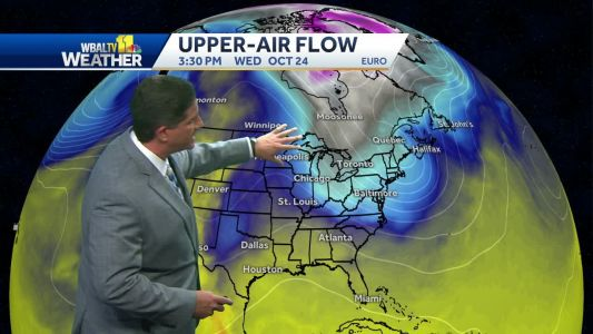 Frost possible overnight, Tony shows where