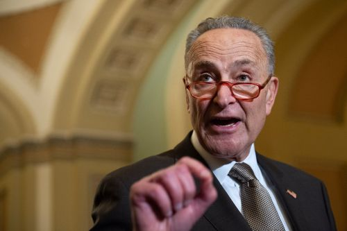 Chuck Schumer wants to hear from Mulvaney, Bolton at Senate impeachment trial