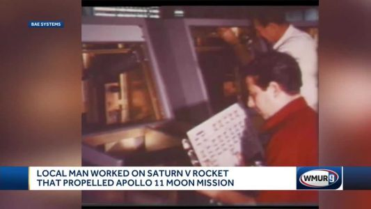 NH engineers were key to Apollo 11's success