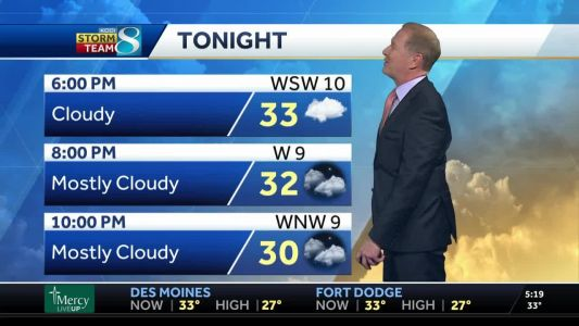 Patchy fog returns, refeeze likely