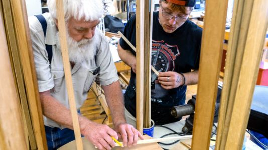 'A New Start' - In Recovery And Learning To Make Musical Instruments In Appalachia