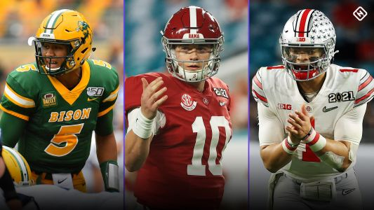 QB-only NFL mock draft 2021: Projecting where Mac Jones, Justin Fields & 10 other quarterbacks will go