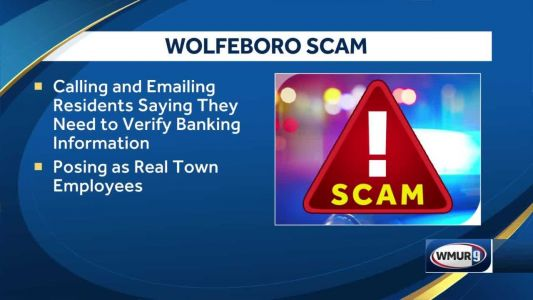 Wolfeboro police warn residents of scammers pretending to be town employees