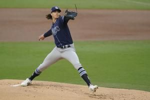 Glasnow, Snell to start first 2 World Series games for Rays