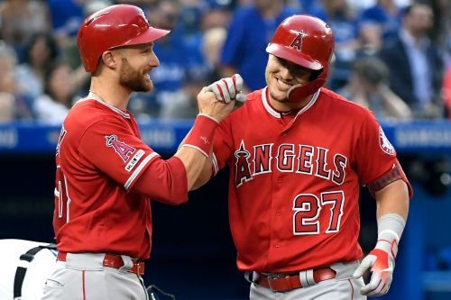 Mike Trout's grand slam finally lifts Angels over .500
