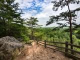 Occoneechee Mountain State Natural Area offers scenic views, safe distancing
