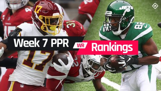 Week 7 Fantasy WR PPR Rankings: Must-starts, sleepers, potential busts