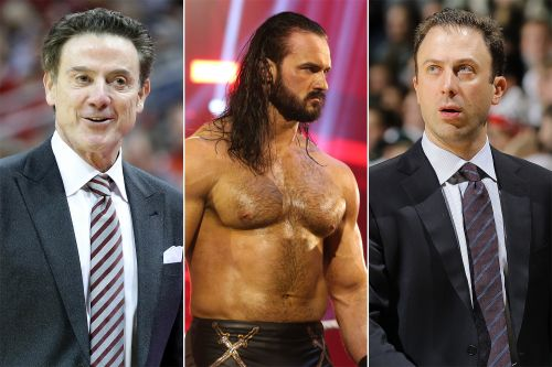 Rick Pitino wins bet with son on Brock Lesnar-Drew McIntyre WrestleMania 36 match