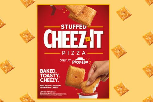 Pizza Hut blesses junk food fans with 'Cheez-It Pizza'