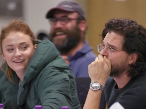 We finally know what made Kit Harington cry so much at the final 'Game of Thrones' table read
