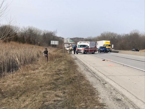 Man struck, killed by semi-truck on Interstate 80