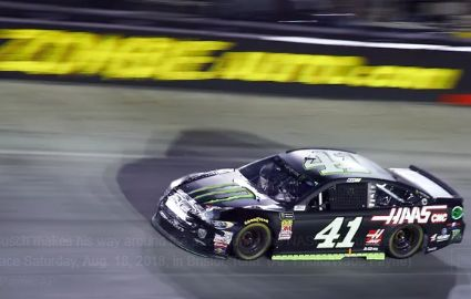 Kurt Busch wins Bristol for first victory of the season