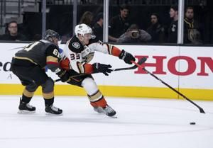 Knights show flash of old in 5-0 rout of Ducks
