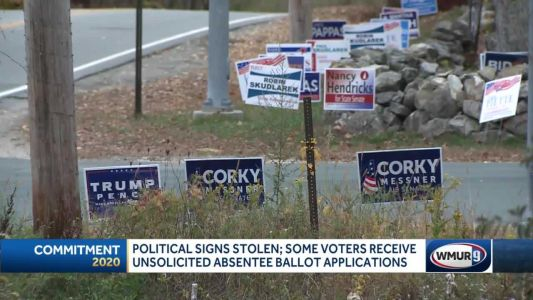 Some NH towns see increase in campaign sign vandalism, thefts