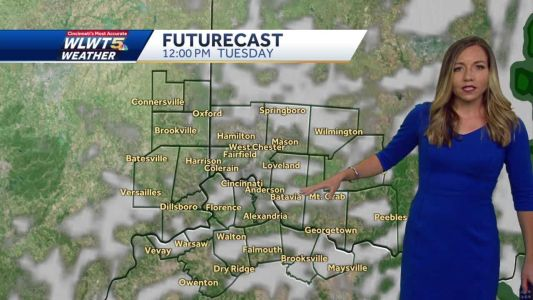 Mostly cloudy and chilly night ahead