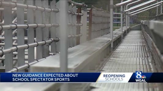 Wolf administration could issue new guidance on school sports spectators
