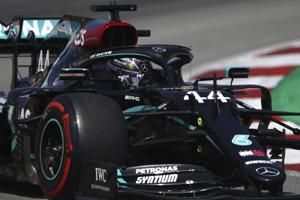 Spanish GP: Hamilton tops final practice ahead of qualifying