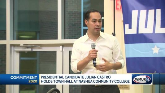 Presidential candidate Julián Castro holds town hall event in Nashua