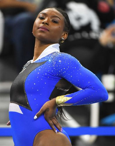 This gymnast's Beyoncé-inspired routine is the internet's latest obsession