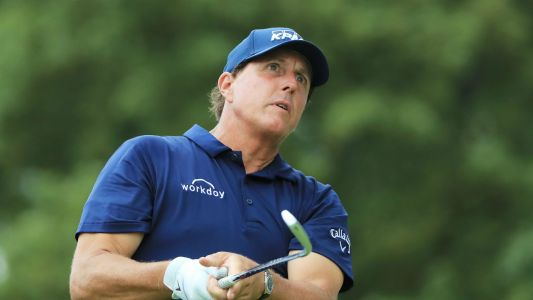 Phil Mickelson makes BMW Championship tee time despite hotel fire caused by lightning strike