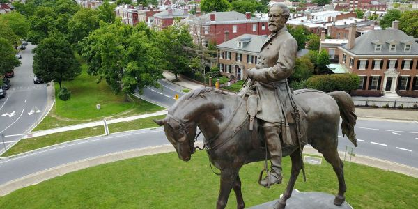 Schools named after Robert E. Lee are renaming themselves after other famous Lees to avoid spending money on new signs - but that's not the only way districts have rebranded buildings named after Confederate leaders