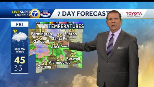 Rain, snow and wind increase Friday