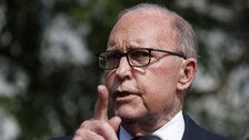 Larry Kudlow Admits U.S. Will Pay Tariffs On Chinese Goods, Contradicting Trump