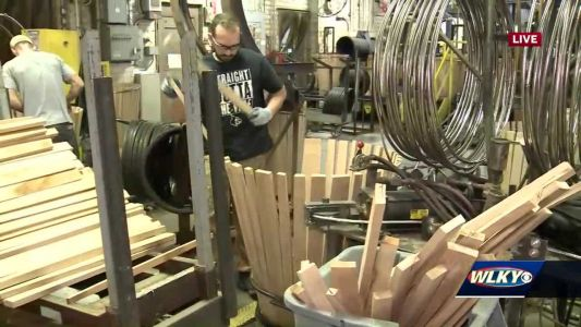 Brown-Forman offers tours of Louisville cooperage
