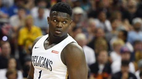'Let's dance': Budding NBA superstar Zion Williamson signs with Nike's Jordan Brand