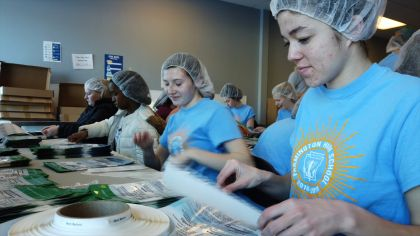 Farmington High Schoolers Use Holiday To Help Feed Starving Children